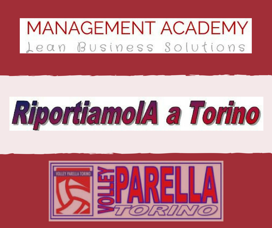 SPORT&AZIENDA: Accordo MANAGEMENT ACADEMY-PARELLA VOLLEY