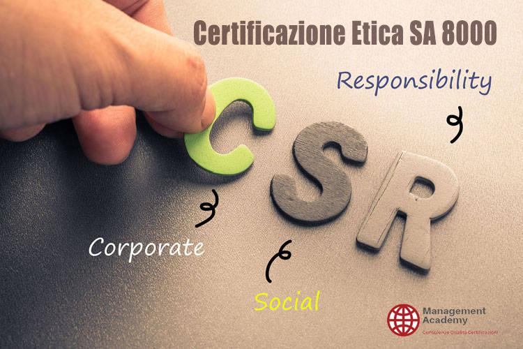 Certificazione Etica SA 8000